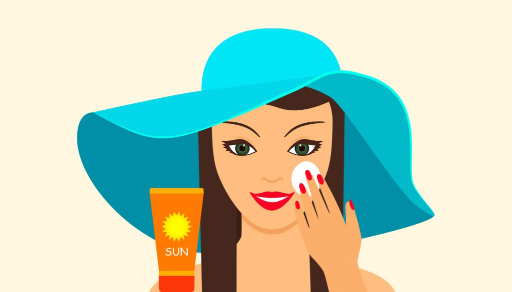Some acne treatments make your skin more sun sensitive so use sun protection